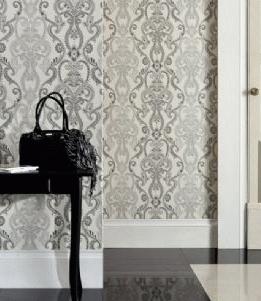 kelmscott black cream 97212 kew intrade tapeter. Black Bedroom Furniture Sets. Home Design Ideas