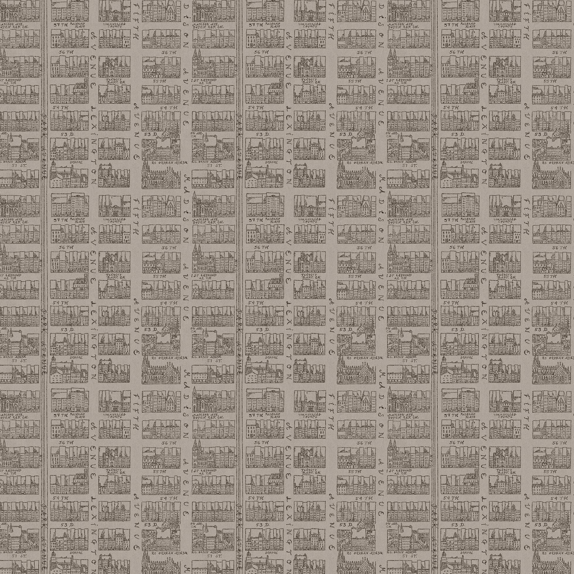 Sandberg Tapeter Och Tyger : Manhattan Brun 211-59 New York Stories Sandberg – Tapeter-tyger.se