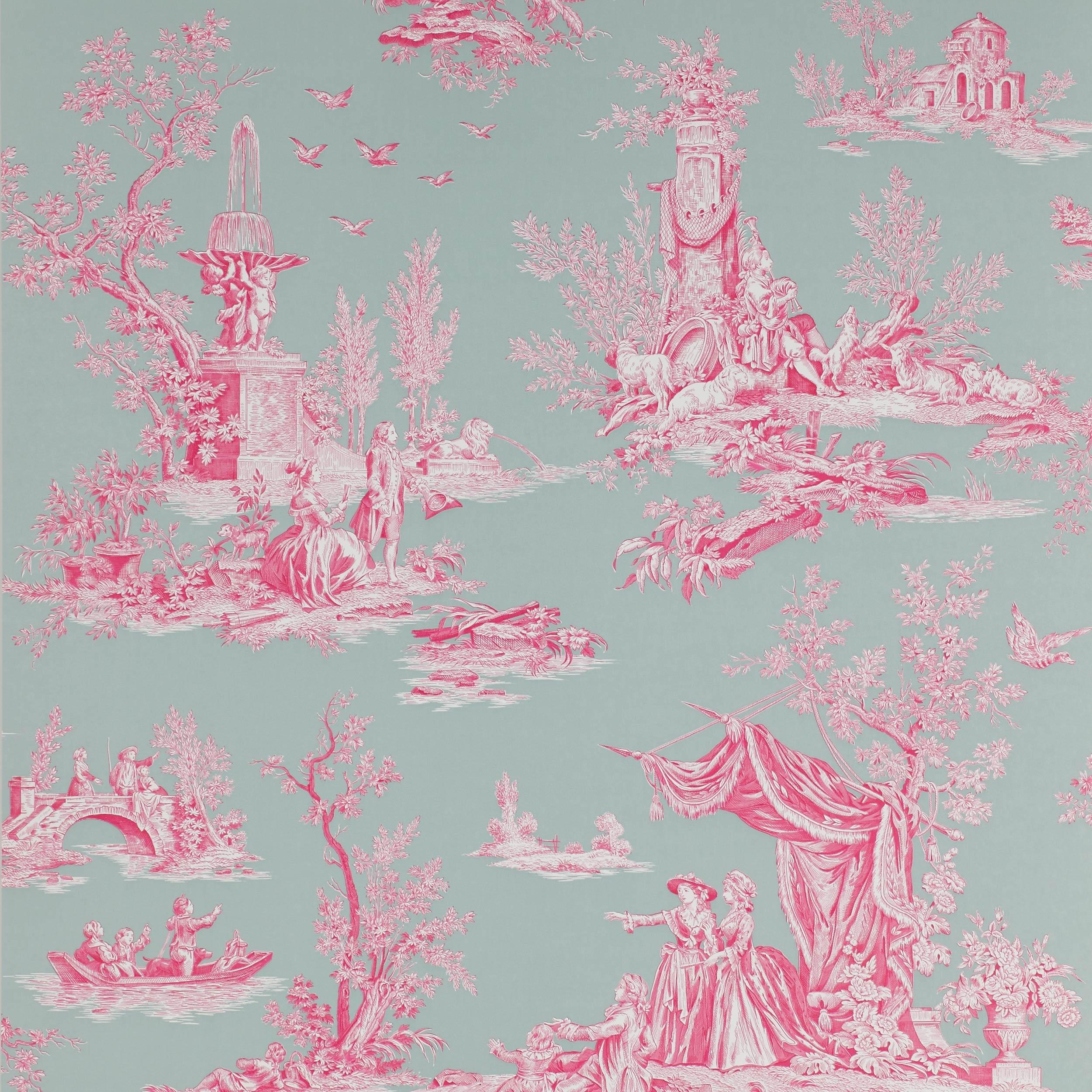 jardin du luxembourg 03066 03 papiers peints trianon. Black Bedroom Furniture Sets. Home Design Ideas