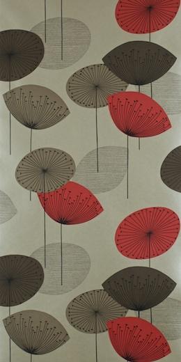 Dandelion clocks red dopwda101 options 10 sanderson - Sanderson dandelion clocks wallpaper ...